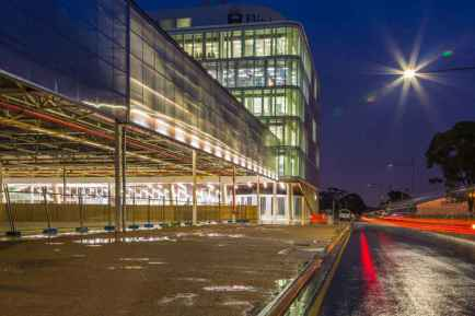tonsley at night